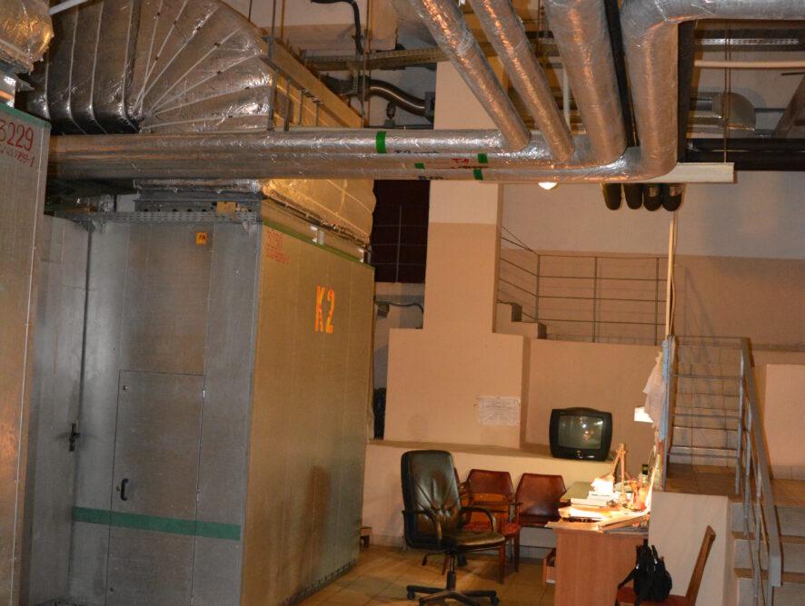 система вентиляции в подвале одесского оперного театра