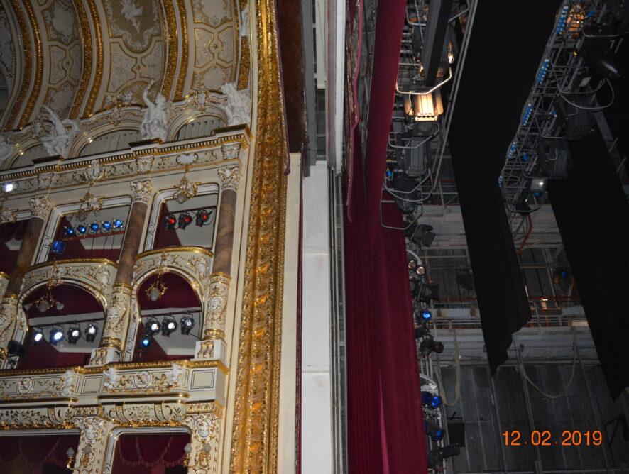 фото со сцены оперного театра