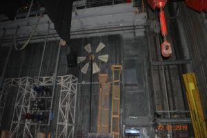 вид за кулисами оперного театра