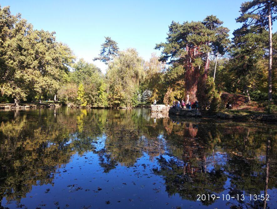 Заповедник АСКАНИЯ-НОВА пруд в парке