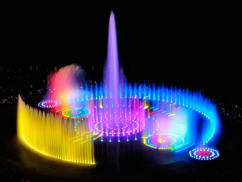 Винницкие фонтаны из Одессы