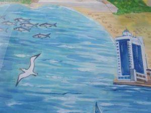 рисунок морского вокзала