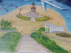 рисунок лестницы