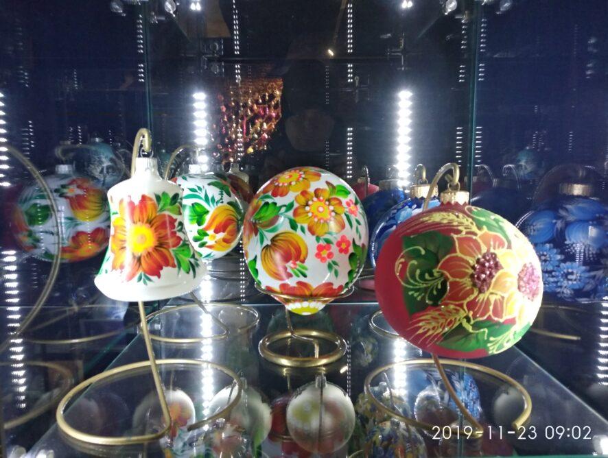 редкие новогодние игрушки в Клавдиево