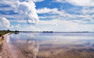 Солевые озера Кимбурнской косы