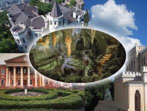 Дворцы Одессы и грот Потоцких
