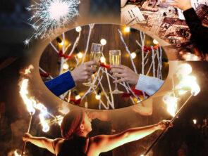 Новый год на берегу моря в Затоке