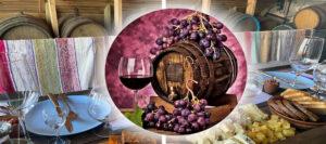 Дегустация вина и брынзы из Одессы